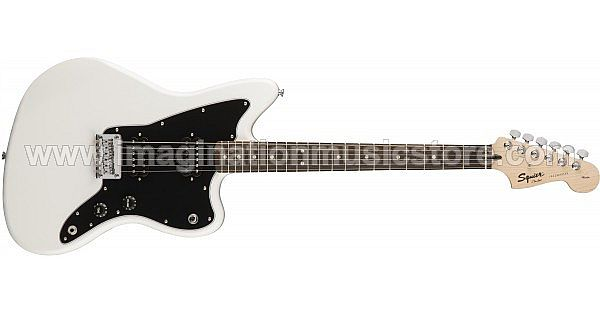 Squier Affinity Series Jazzmaster HH - Arctic White w/ Indian Laurel Fingerboard