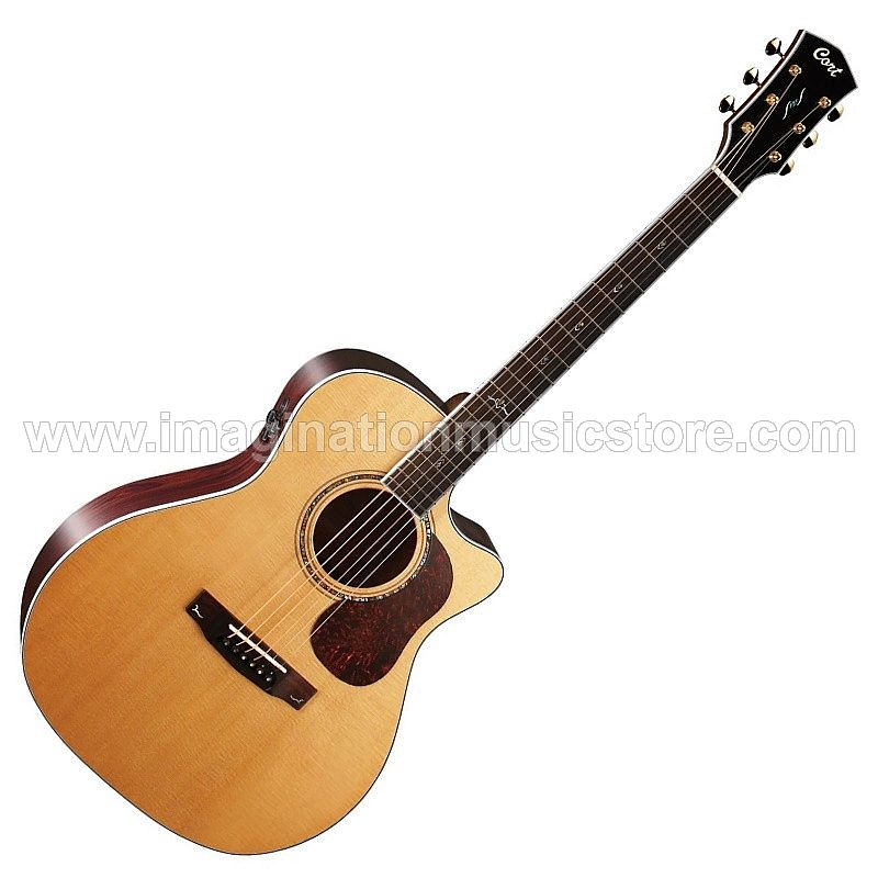 Cort Gold-A8 Acoustic Electric Full Solid in Natural