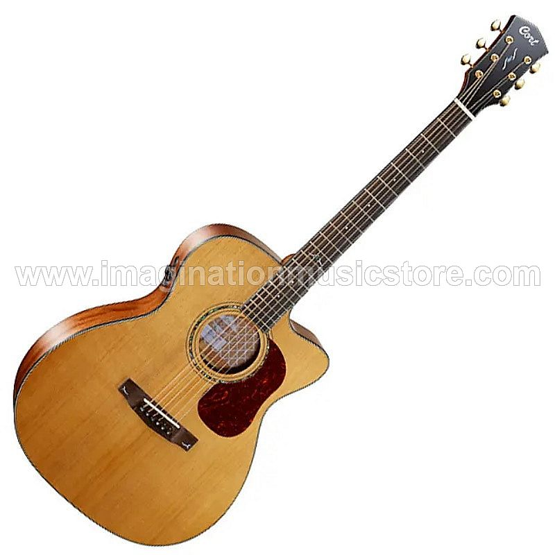 Cort Gold-OC6-NAT Acoustic Electric Full Solid in Natural