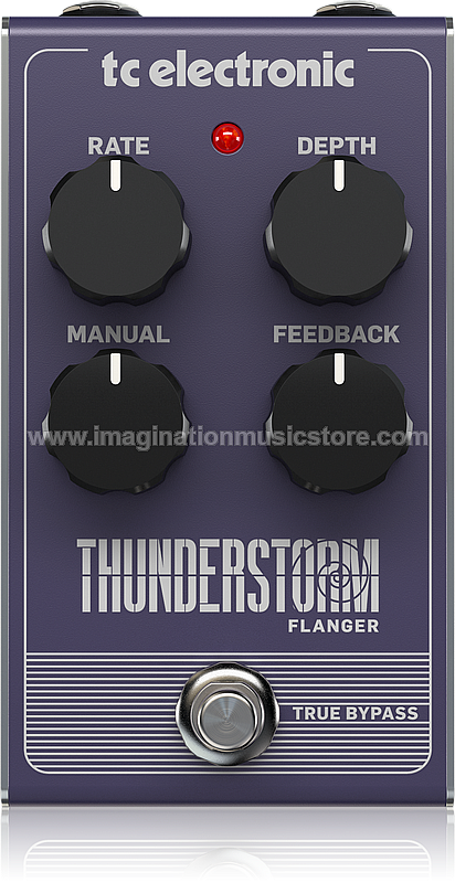 TC Electronic Thunderstorm Flanger Guitar Effect Pedal