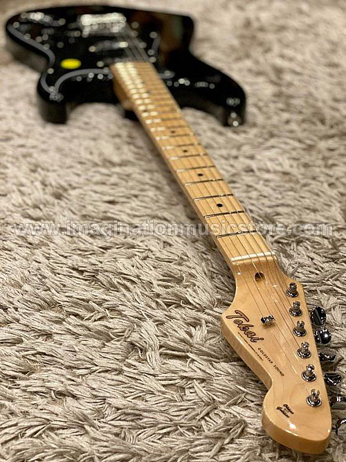 Tokai AST-52 BB/M Goldstar Sound 2020 in Full Black with maple FB