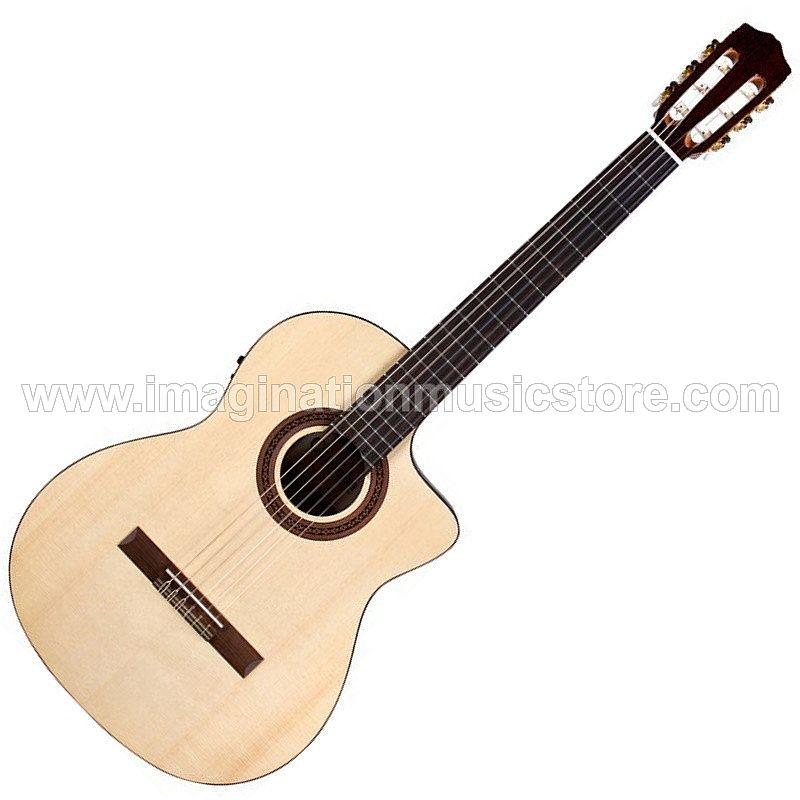 Cordoba C5-CE Nylon String Acoustic-Electric - Natural Spruce