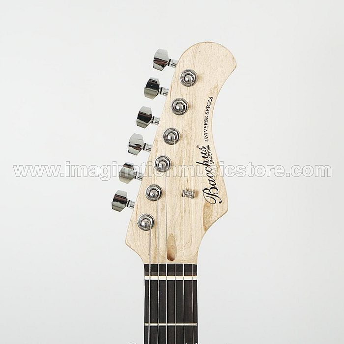 Bacchus BST-1R Silver Universe Series Stratocaster Model