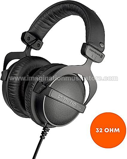 Beyerdynamic DT 770 PRO Studio Headphones - 32 Ohm
