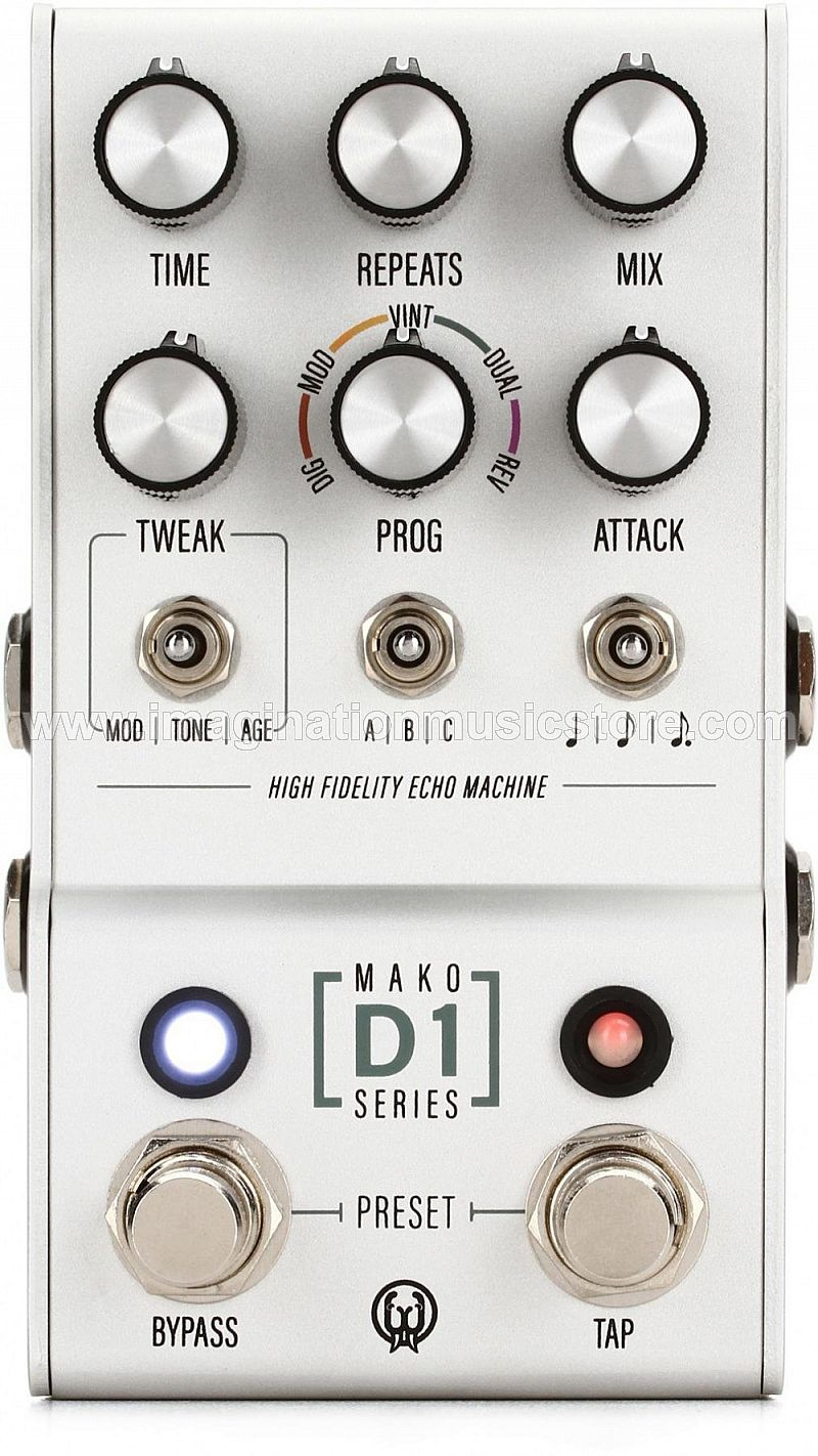 Walrus Audio Mako Series D1 High-Fidelity Delay Pedal