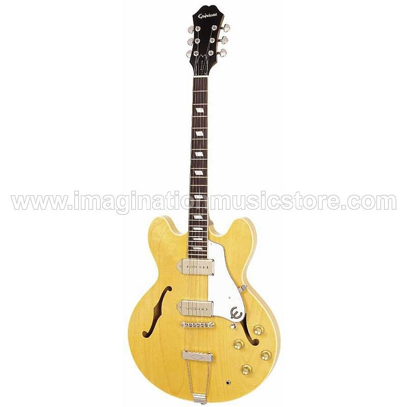 Epiphone Elitist 1965 Casino Outfit Electric Guitar, Natural