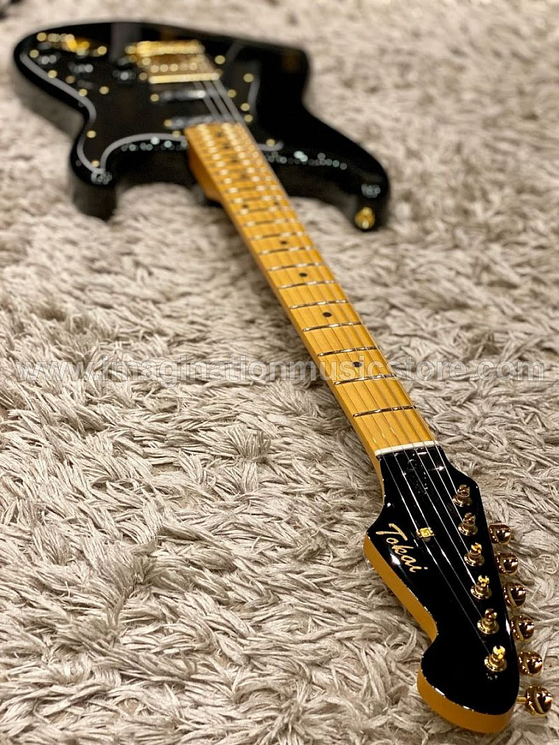 Tokai AST-95SH GH Goldstar Sound Japan Limited Edition in Black Beauty