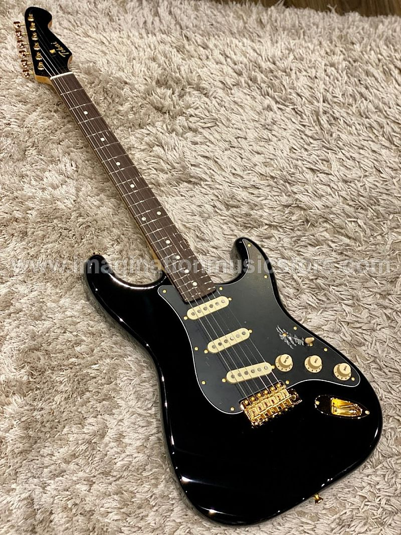 Tokai AST-104G BB/R Goldstar Sound Japan in Black Beauty with Rosewood FB