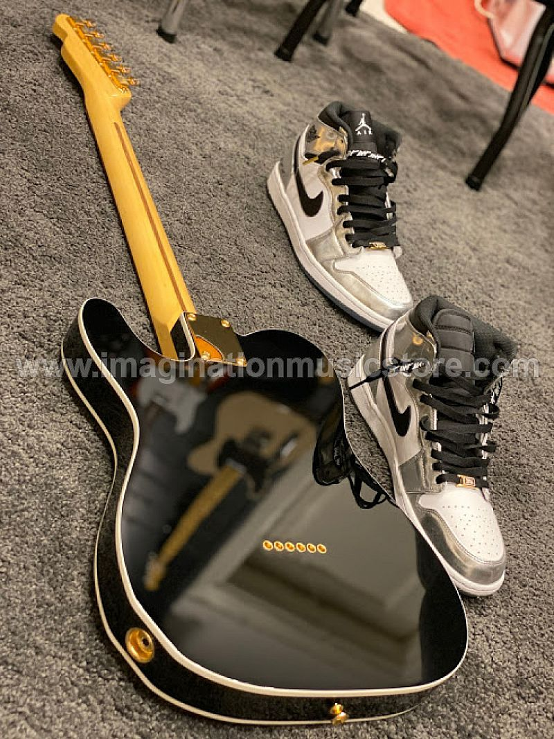 Tokai ATE-106B MH GH BB/R Breezysound Limited Edition Japan in Black Beauty