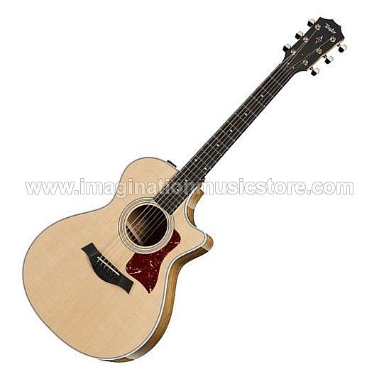 Taylor 412ce V-Class Acoustic-Electric Guitar - Natural