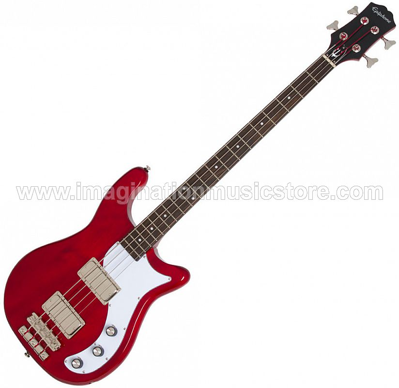 Epiphone Embassy Pro Bass - Dark Cherry