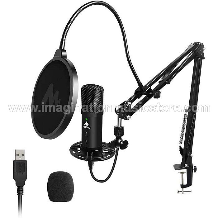 Maono AU-PM401 - USB Studio Microphone Set