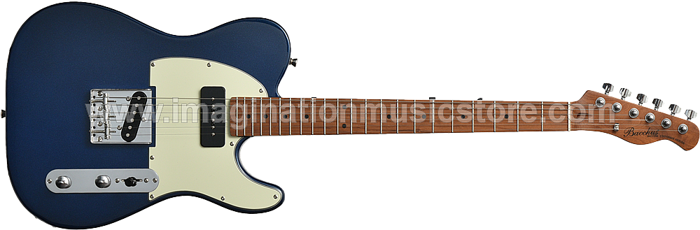 Bacchus BTE-2-RSM/M Lake Placid Blue Roasted Maple Series Telecaster Model
