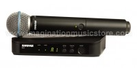 Shure BLX24/BETA58 Handheld Wireless System