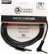 D`Addario Planet Waves PW-AMSGRA-10 American Stage Instrument Cable - 3 M