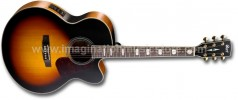 Cort CJ3V-TAB Acoustic Electric Trans Amber Burst