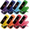 Korg Pitchclip Clip-on Chromatic Guitar Tuner Multi Color