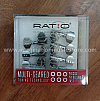 Graphtech Ratio PRN-2721-C0 MACHINE HEADS - ELECTRIC 6 in Line Chrome
