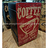 MUSIKTAGE Art Series Cajon BSP R Barrel Coffee Red w/ Bag
