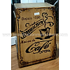 MUSIKTAGE Art Series Cajon BSP R Barrel Torrefacteur Cafe w/ Bag