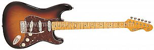 Vintage V6 Reissued V6MSSB Sunburst Electric Guitar