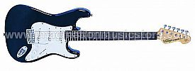 Vintage V6 Reissued V6BB Solid Body Boulevard Black