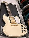 Tokai SG71S AI in Antique Ivory with Gold Hardware and 3 pickups