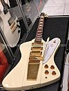 Tokai FB90 AI in Antique Ivory Firebird with Vibrola MIC traditional