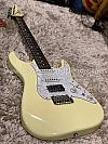 Soloking MS-1 Classic in Vintage White with Roasted Neck and Rosewood FB