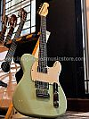 Gilmour Guitar Classic T HH Custom Shop in Surf Green with Rosewood FB