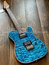 Soloking MT-1 Custom in Seethru Blue with Roasted Neck and Rosewood FB