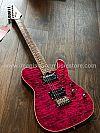 Soloking MT-1 Custom in Seethru Purple Magenta with Roasted Neck and Rosewood FB