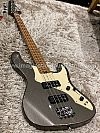 Soloking MJ-1 Classic Bass in Pewter Grey with Roasted Maple Neck