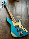Soloking MJ-1 Classic Bass in Lake Placid Blue with Roasted Maple Neck