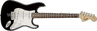 Squier Affinity Series Stratocaster - Black with Laurel Fingerboard