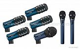 Audio-Technica MB/DK7 Midnight Blue Series Drum Kit Microphone Pack