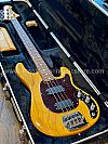 Ernie Ball Music Man Classic Sabre Electric Bass in Natural with Flamed Maple Neck