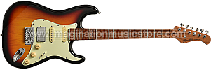 Bacchus BST-2-RSM/M 3-Tone Sunburst Roasted Maple Series Stratocaster Model