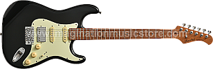 Bacchus BST-2-RSM/M Black Roasted Maple Series Stratocaster Model