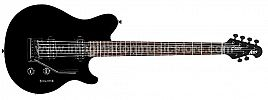 Sterling by Music Man AX3S-BK-R1 Axis in Black with White Body Binding