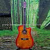 AVALONE AC210FCE CHERRY SUNBURST DREADNOUGHT ACOUSTIC ELECTRIC GUITAR