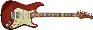 Bacchus BST-2-RSM/M Candy Apple Red Roasted Maple Series Stratocaster Model