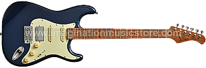Bacchus BST-2-RSM/M Lake Placid Blue Roasted Maple Series Stratocaster Model