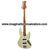 Bacchus BJB-1-RSM/M Olympic White Roasted Maple Series Jazz Bass Model